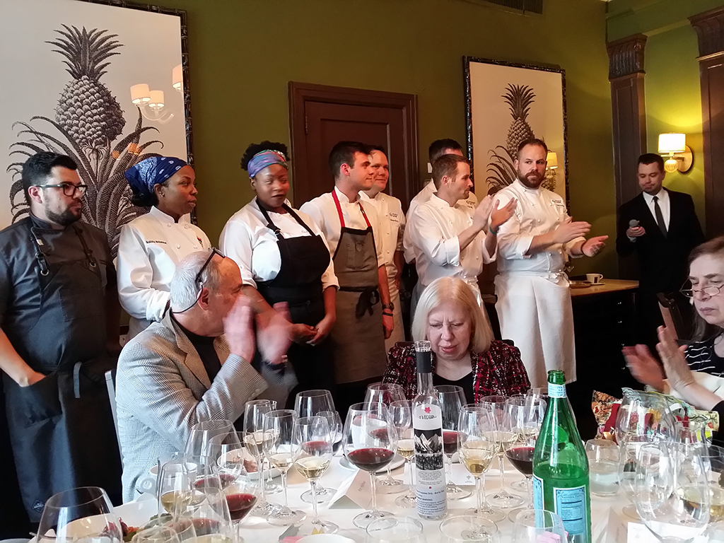 8. Chef Ned Bell and colleagues
