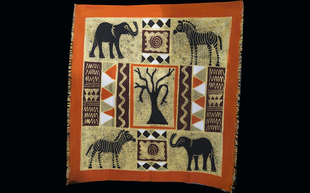 So Africa 3056-1 handpainted cloth